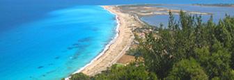 Lefkas mooie strand bij Agios Ioannis