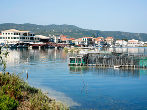 Lefkas de mooie stad Lefkas stad (Lefkada)