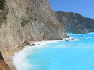 Porto Katsiki een van de mooiste stranden van Griekenland op Lefkas